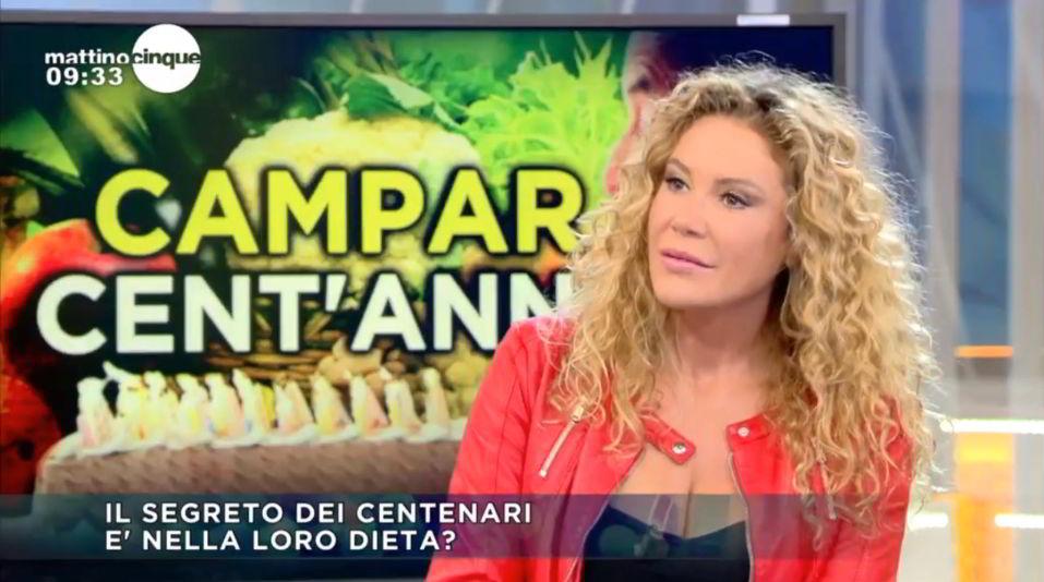Samantah Biale a Mattino 5 - Il segrteto dei centenari è nella loro dieta?